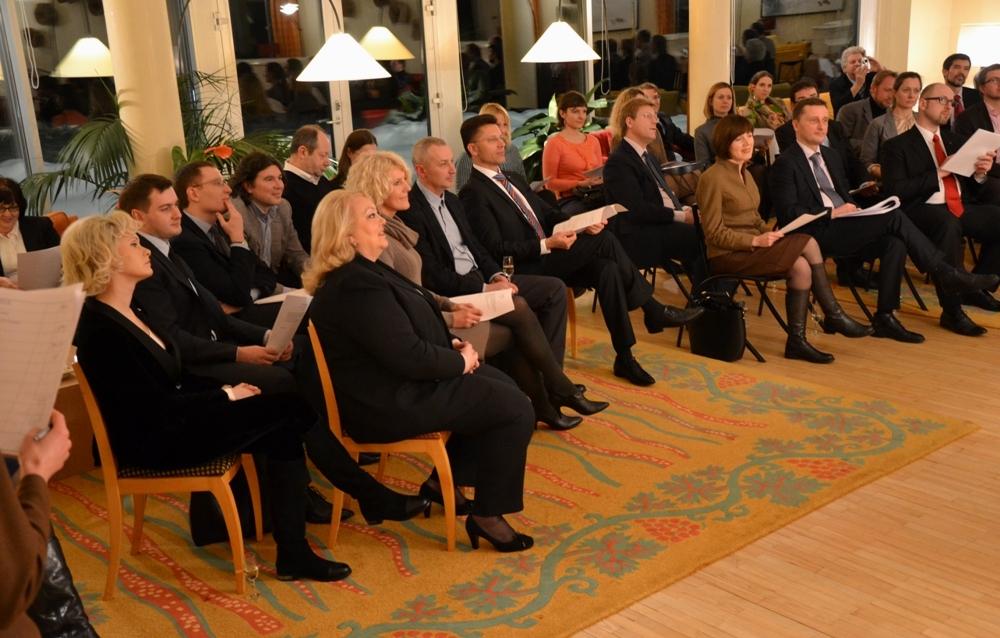 L ambassadeur re oit la chambre de commerce franco - Chambre de commerce franco americaine paris ...